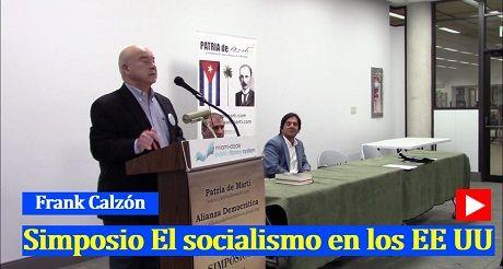 Frank Calzon Simposio El socialismo en EEUU
