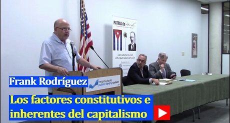 Frank Rodríguez Los factores constitutivos e inherentes del capitalismo