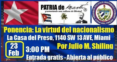Invitacion Ponencia La virtud del nacionalismo