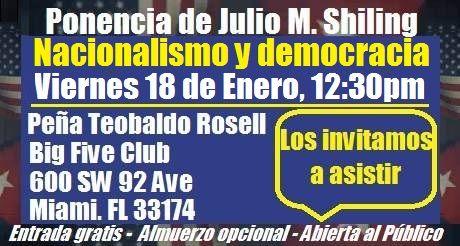 Invitacion Ponencia Nacionalismo y democracia