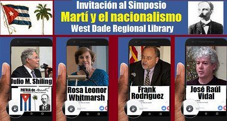 Invitacion Simposio Marti y Nacionalismo