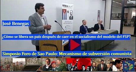 Jose Benegas Como se libera un pais despues de caer en el modelo del FSP