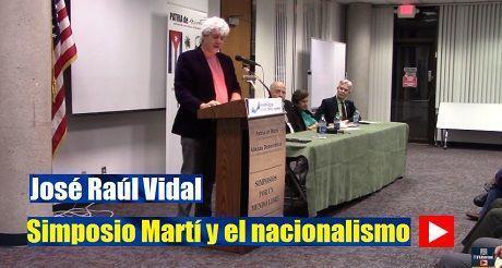 Jose R Vidal Simposio Marti Y El Nacionalismo