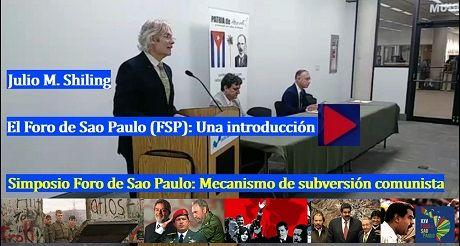 Julio M Shiling Introduccion Simposio Foro de Sao Paulo
