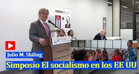 Julio M Shiling presentacion del Simposio El socialismo en EEUU