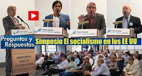 Pregntas y respuestas Simposio El socialismo en los EE UU