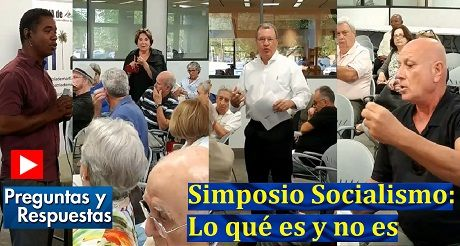 Preguntas respuestas Simposio Socialismo Lo que es y no es