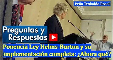 Preguntas y respuestas Ley Helms Burton implementacion completa