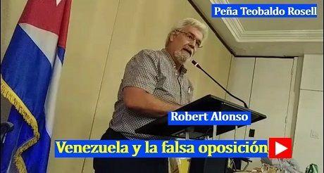 Robert Alonso Venezuela y la falsa oposicion