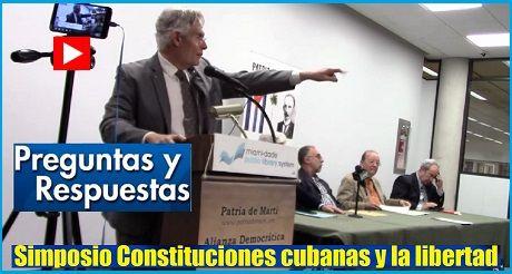 Simposio Constitucion Cubana Preguntas Y Respuestas