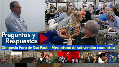 Simposio Foro de Sao Paulo Preguntas y respuestas