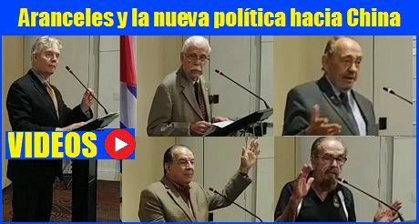 Videos Ponencia Aranceles y la nueva política hacia China