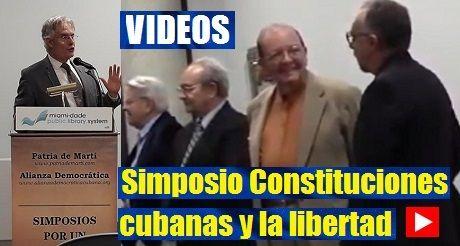 Videos del Simposio Constiruciones cubanas