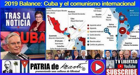 Argentina: 2019 Balance: Cuba y el comunismo internacional