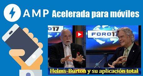 AMP Ley Helms Burton aplicacion total