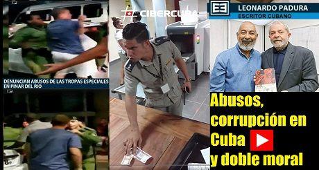 Abusos Corrupcion En Cuba Doble Moral