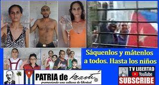 Acto de repudio criminal cotra familia Miranda Leyva