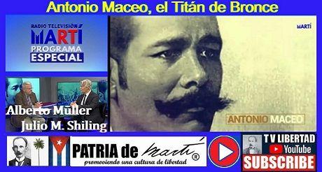 Antonio Maceo El Titan De Bronce