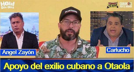 Apoyo Del Exilio Cubano A Otaola