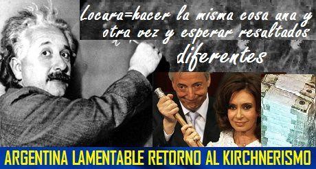 Argentina Lamentable Retorno Al KIRCHNERISMO