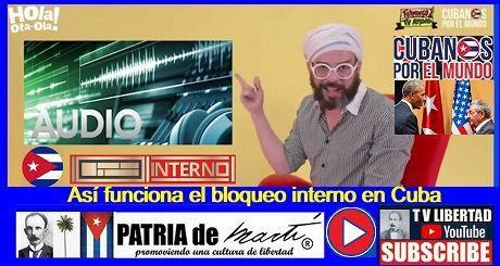 Así funciona el bloqueo interno en Cuba