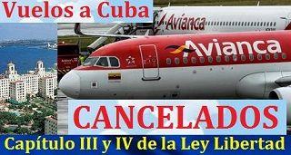 Avianca Suspende Vuelos A Cuba Mobile