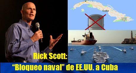 Bloqueo naval de EEUU a Cuba