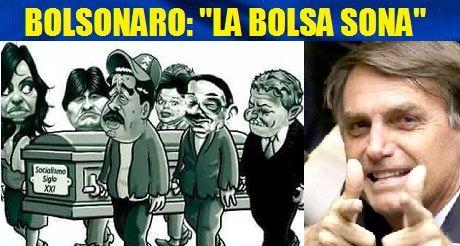 Bolsonaro la bolsa sona