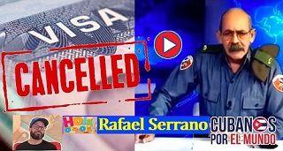 Cancelan VISA a Rafael Serrano para entrar a EEUU