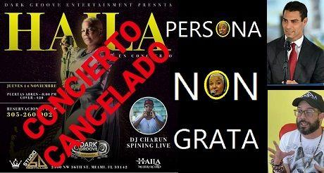 Cancelan Concierto De Haila En Miami