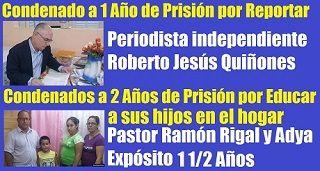 Cuba: Condenados por reportar y por educar
