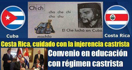 Costa Rica Cuba Convenio En Educacion