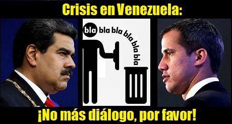 Crisis En Venezuela No Mas Dialogo