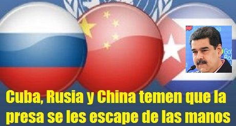 Cuba Rusia Y China Temen Que La Presa Se Les Escape