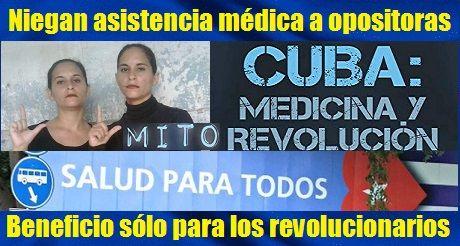 Cuba Niega Atencion Medica A Opositoras