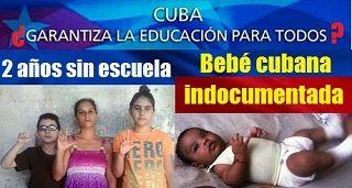 Cuba Sin Derecho A Educacion Bebe Cubana Indocumentada Mobile