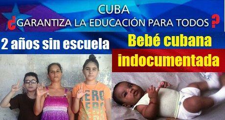 Cuba Sin Derecho A Educacion Bebe Cubana Indocumentada