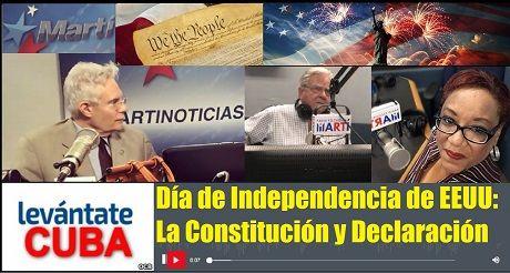 Dia de Independencia de EEUU Constitucion y Declaracion