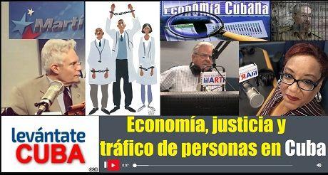 Economia justicia y trafico de personas Cuba