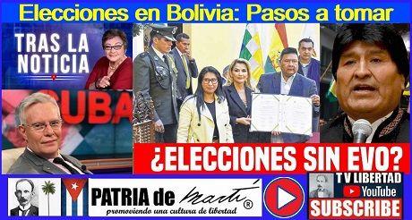 Elecciones en Bolivia: Pasos a tomar