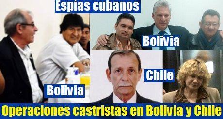 Espias Castristas En Bolivia Y Chile