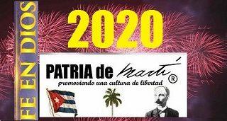 Feliz 2020 con Fe en Dios