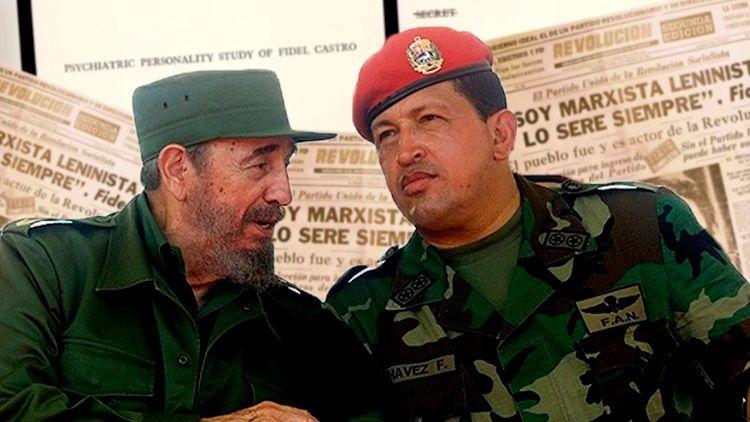 Fidel y Chavez Infobae