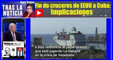 Fin De Cruceros De EEUU A Cuba