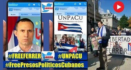 Free Ferrer y #PresosPoliticosCubanos