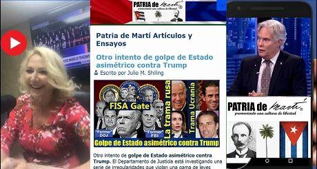 Golpe De Estado Asimetrico Contra Trump En Maria Laria