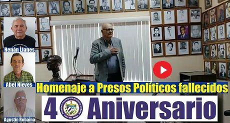 Homenaje A Presos Politicos Fallecidos Exilio