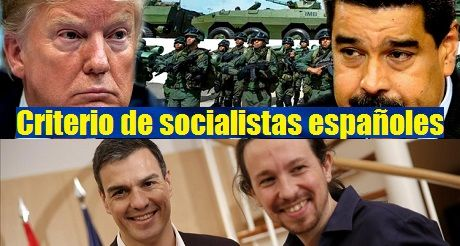 Intervencion militar en Venezuela Criterio socialistas espanoles