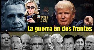 La guerra en dos frentes de Donald Trump