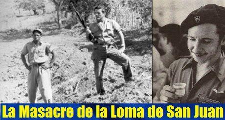 La masacre de la Loma de San Juan